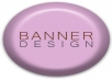 design a professional appealing Banner or Header for your company