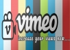 add 20,000 fast views to your VIMEO videos in 24 hours, multiple videos up to 3