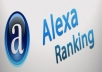 give five star alexa review to your site
