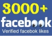 provide REAL 3,000++ Facebook Likes to your Website/blog/URL (no FB fanpage)