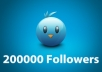 add 200,000 REAL Looking Twitter Followers with Full Bio and Pic No Egg Accounts at ALL to your Account Right Meow in Less than 24 Hours