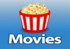 email you any 5 movies you want