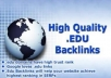 make 70+ Real High Pr BACKLINKS, Dofollow, PR8, PR9, Edu, Anchor, Penguin Safe, High Authority, Serp, Huge Link Juice + Pinging, Good Seo