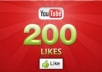 Give You 200+ Real And Legit Youtube Likes Within 24-Hours