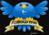 Get you 555+45 Twitter Followers, 100% real & Genuine only