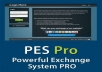Powerful exchange system pro script