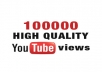 give 100000+ youtube views with  likes or subscribers
