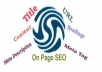 do Off Page Seo of your blog for my best buddy