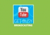 send you 50 youtube video likes , subscribers, favorites plus comments within 24hours