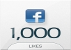 give you 1000+ Facebook Fan Likes to your Fan Page, quality profiled fan likes for your fan page
