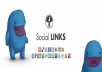 Deliver 100 Social Backlinks
