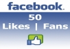 provide [EXPRESS] 50 Facebook Likes in 24 hours
