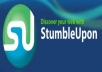 Give you 110 stumbleUpon and Bonus 30 Dilicious for your only 1 site