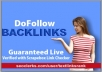 create 250 DO-FOLLOW backlinks for your website