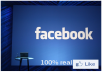 give you 2000 real facebook fanpage like without admin access