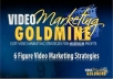 Give You The Video Goldmine Home Course + FREE BONUS Youtube Million Dollar Marketing Course
