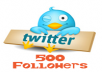 give you 500+ REAL Twitter followers NO PASSWORD OR USERNAME! 