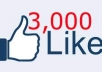 Give you 2500 VERIFIED Website Facebook Likes Guaranteed safe to any Domain Website Webpage