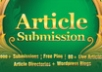 &&&spin and Submit to 2000 Article Submission Directories and blogs, 160 Instant Backlinks, 80 Live URLs &&&