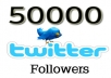 make perfect 50,000 ++++ Twitter Followers for your profile, Excellent rates, Limit Time offer.