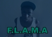 rap a verse in your song (13 year old rapper) Young Flama