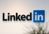 provide a list of 5,400+ ACTIVE Linkedin Users who want to Connect and will Accept your Invitations right away