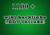create 1100 contextual wiki BACKLINKS,in 1100 Backlinks wiki site to make your site in page one 