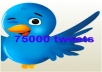 give you a list of 75000 tweets