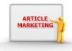 submit your article to 3 article marketing press realease