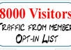&quot;&quot;&quot;send 8000 visitors to your website or URL &quot;&quot;&quot;