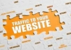 send 3000 Targeted Traffic to Your Website + Create 2000 Pr2 to Pr8 Backlinks + Manual Submission to 5 Do Follow Social Bookmarking Sites
