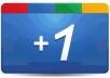 get 12 real GOOGLE +1 unique hits,votes on your webpage / blog / site / product Get Google Plus 1 now