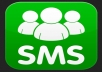 send an sms in your business name or mobile number to anyones mobile