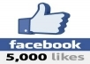 give you 5,099 ++++ Facebook Likes to your fanpage