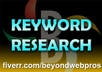 $$$do indepth keyword research and provide high traffic, low competition keyphrases on a given niche using market samurai $$$
