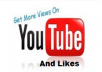Get You 100+ Youtube Likes / Within 24-Hours