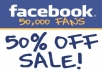 add 25,OOO Facebook Fanpage Likes only in 75$ very cheap price for you limit time offer