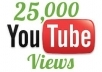 give you 25,OOO +++ youtube video views
