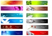 design for you 6 banner ads or headers