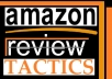 show you the legal way of getting Tons of Amazon REVIEWS