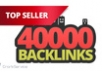 make 40,000 blog comment backlinks!!!!!!