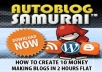 Provide You Auto Blog Sumrai Software