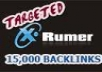 provide 15000 verified forum profile backlinks