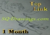 put your link at Top Right, All Pages of my Blog for 1 Month