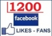 give you 1200 REAL looking facebook likes or fans to your fanpages within 72 hours [2000+ positive reviews...!!!!!!