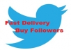 Give You 10,000+ Twitter Followers Within 12-Hours