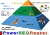 build the ultimate 13500 contextual DOFOLLOW backlink pyramid with PR3 to PR9 Blog Posts on Multiple Class C ips .