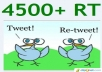 give you 4500+ retweet and 4500+ favorites in 8 hours 