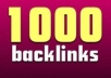 create 1000++ High Pr Edu and Gov backlinks to DOMINATE Google 