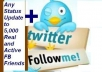 Get you 65,000++ Twitter FOLLOWERS to Any Account, in 24 Hours